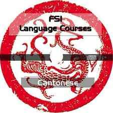 * LEARN CANTONESE CHINESE LANGUAGE * FSI TRAINING COURSE * MP3 AUDIO PDF on CD *