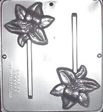 Day Lily Lollipop Chocolate Candy Mold  3388 NEW