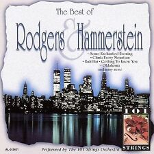 The Best of Rodgers &  Hammerstein by 101 Strings (Orchestra) (CD, May-1996,...
