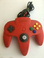 Nintendo 64 N64 Controller - Red - AUTHENTIC | ORIGINAL | OFFICIAL | TESTED!