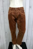 JECKERSON Jeans Uomo Taglia 38 / 52 Pantalone Regular Cotone Pants Men Man Patch