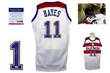Elvin Hayes SIGNED Jersey - PSA/DNA - Washington Bullets Autographed NBA TOP 50