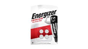 4 x Energizer LR44 1.5V Alkaline Button Cell Batteries V13GA A76 AG13 357 PX76A