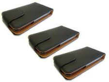 3Stk Handytasche für Iphone 3g 3gs Flip PU Leder Etuis Klapp Hülle Tasche Schutz