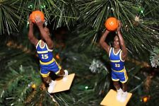 GOLDEN STATE WARRIORS Christmas tree ornaments set 2 SPREWELL SMITH blue jersey