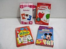 Flash Cards Alphabet First Words Dr. Seuss Numbers 1-20 Disney Counting