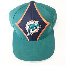 17ca49d4470 Vintage Starter Pro Line Authentic Miami Dolphins Strap Back Hat Cap 90 s