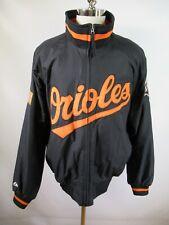 F2298 VTG Men'S MAJESTIC Baltimore Orioles MLB Baseball Full-Zip Jacket XL