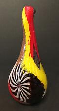 "Dino Martens Hand-Blown Oriente Glass Vase ""Olaf"" 1950s"
