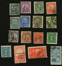 1906-15 Brazil Stamps Sct #174-191 (xcept #183 & #188)  All Used, H (xcept #187)
