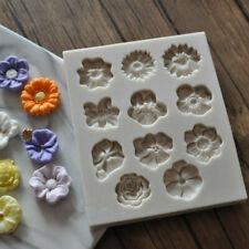 Sugarcraft Fondant Mold Silicone Cake Tool Flower Decorating Mini Chocolate