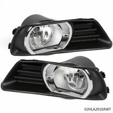 Clear Lens Fog Driving Lights Lamps Kit + Switch Kit For Toyota 2007-2009 Camry
