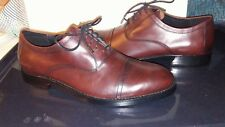 2395075eb03  NWOB  MENS COACH SHOES SIZE 10.5 W MAHOGANY BROWN LACE UP OXFORD AIDEN  Q6170