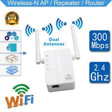 2018 Wifi Booster Amplifier Wireless Range Extended Internet Signal Enhancer NEW