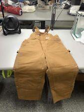 Men's NWT Carhartt Bib Overalls Size 42 x 30