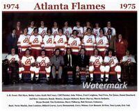 NHL 1974 - 75 Atlanta Flames Team Picture Color 8 X 10 Photo Picture
