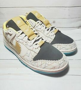 Nike Dunk Low By You ID N7 Kyrie Irving White Grey Yellow DN2066-991 Men's 13