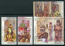 India 2018 MNH Indian Fashion 4v Set Traditional Dress Costumes Cultures Stamps