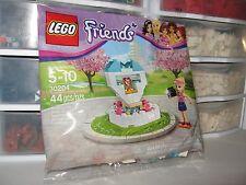LEGO FRIENDS STEPHANIE WISH FOUNTAIN  # 30204 NEW IN  POLYBAG!!