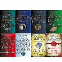 Outlander series Diana Gabaldon collection 8 books set pack voyager NEW