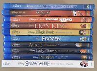 Bluray Lot Disney Pixar 10 Kids Titles