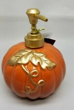Decorative Pumpkin Lotion Dispenser