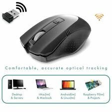 Compoint CP-M360W 2.4Ghz Wireless Optical Mouse For KODI Android TV Boxes
