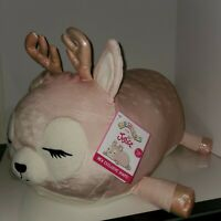 """Squishmallow Ivy the Deer20""""Justice Exclusive Kellytoy plush HTF RARE NWT"""