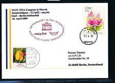 98048) EASY JET FISA So-LP Genf Schweiz - Berlin 25.4.2009,SoK Irland Pilze