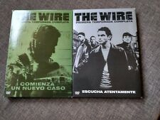 Serie DVD THE WIRE - TEMPORADA 1 y 2 - DOMINIC WEST - IDRIS ELBA - HBO - 2005