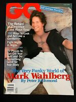2000 JULY GQ MAGAZINE - MARK WAHLBERG! Piper Perabo, Edwin Edwards