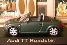 AUDI TT ROADSTER CABRIOLET MINICHAMPS 830003 VERT FONCE 1/43 GREEN 1999 GRUN