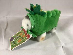 Muffy VanderBear Kitty Cat Plush Purrlie Salad Ballad Pea Pod Green Vegetable