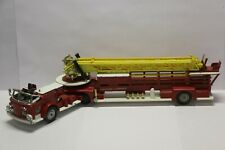 Corgi Major American LaFrance Aerial Ladder Truck Ref 1143-A 1968 Very Good 1/43
