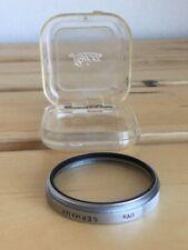 Leica UVa 39mm Chrome Filter MINT With case Leitz UV