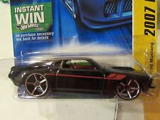 Hot Wheels '69 Ford Mustang 2007 New Models Black Instant Win