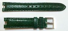 GIANNI BULGARI Lucertola Cinturino in pelle Band 15 x 14 mm con fibbia originale