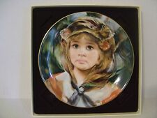"""1982 Royal Doulton Francisco Masseria Angelica Plate 8-1/4"""" With Box"""