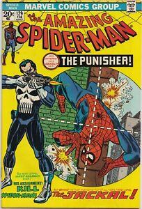 The Amazing Spider-Man #129  6.0  -KEY- First Punisher