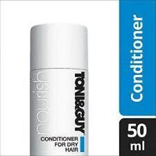 TONI&GUY Nourish Conditioner for Dry Hair 50ml Travel/Mini/Wash/Holiday/NEW