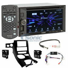 Sony Double DIN Bluetooth DVD Car Stereo Receiver Package for 1997-04 Corvette
