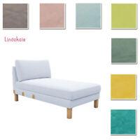 Custom Made Cover Fits IKEA Karlstad Chaise Lounge,Velvet Fabric