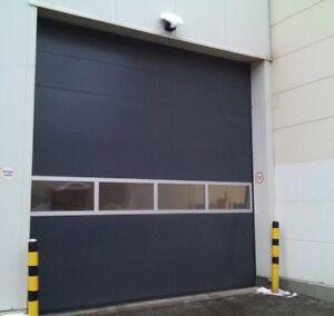 Hallentor Werkstatttor Sektionaltor Industrietor Größe 3500 x 3500 mm