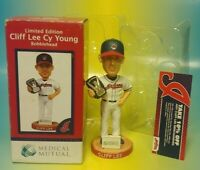 Cliff Lee Bobblehead SGA Cleveland Indians Cy Young 2009 Collector's Edition NEW