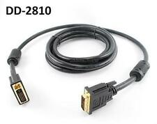 10ft. DVI-D 28AWG Dual-Link Male to Male Video Cable w/ Ferrites, DD-2810