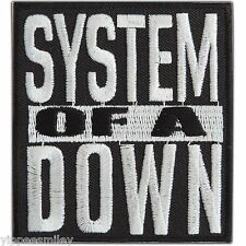 System Of A Down Embroidered Sew Iron On Patches Jacket Vest T Shirt Cap #M0032