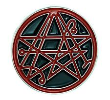 Necronomicon Gate Symbol Lapel Pin Occult Jewelry Alchemy Cthulhu HP Lovecraft