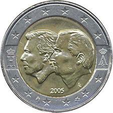 Belgique 2 euro 2005 union économique
