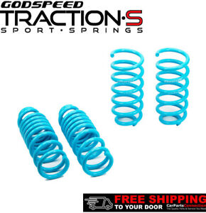 Godspeed Traction-S Lowering Springs For MERCEDES C-CLASS 15-17 Sedan W205 2WD
