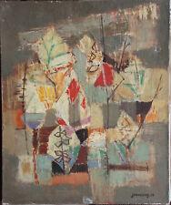 Jean COUY - Tableau huile sur toile signée datée les branches 1956 **